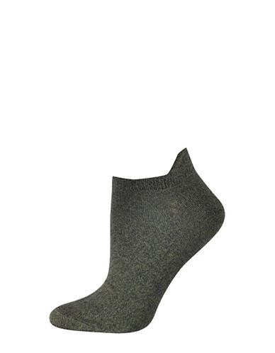 Silks Twist Tab Low Cut Socks-GREEN-One Size