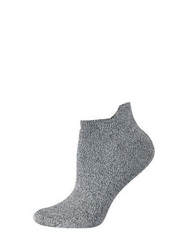 Silks Twist Tab Low Cut Socks-CHARCOAL-One Size
