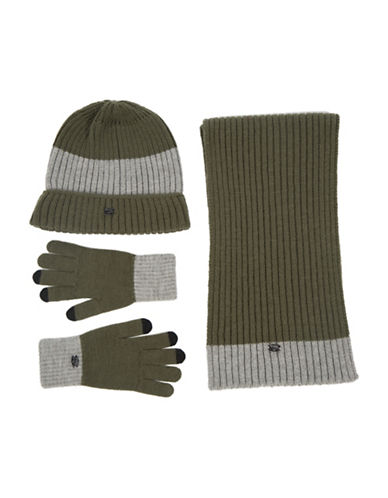 Pajar Lee Hat Scarf and Glove Set-GREEN-One Size 88511097_GREEN_One Size