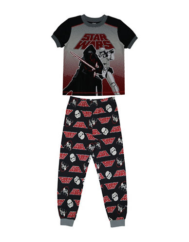 Jellifish Star Wars Two-Piece Pyjama Set-BLACK-6X