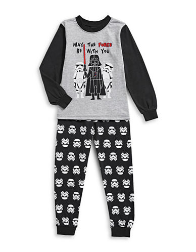 Jellifish Two-Piece Darth Vader Pyjama Set-BLACK-2