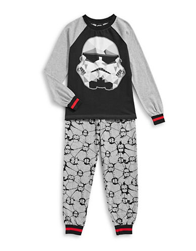 Jellifish Two-Piece Stormtrooper Pyjama Set-GREY-14