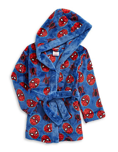 Jelli Fish Kids (Dd) Star Wars Velvet Robe-BLUE-14
