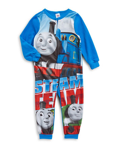 Jelli Fish Kids (Dd) Thomas the Tank Engine Coverall-BLUE-2