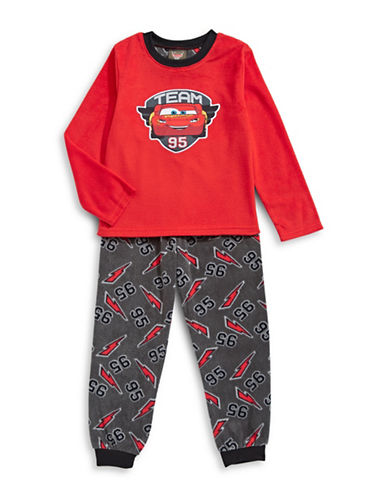 Jellifish Two-Piece Spiderman Pyjama Set-RED-3