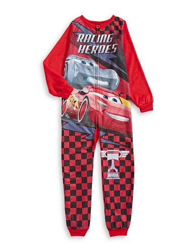 Jellifish Disney Printed Coverall-RED-6