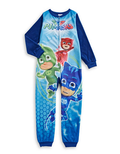 Jellifish Disney Printed Coverall-BLUE-5