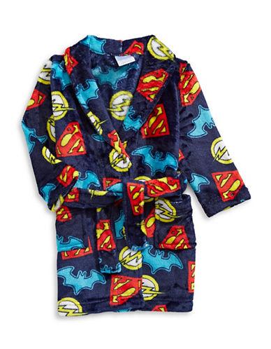 Jelli Fish Kids (Dd) Paw Patrol Velvet Robe-BLUE-5