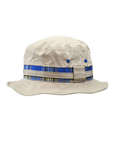 Black Brown 1826 Cotton Twill Bucket Hat-TAN-Medium/Large