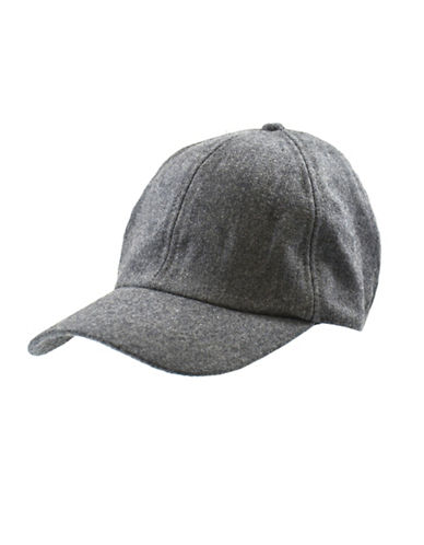 Black Brown 1826 Adjustable Ball Cap-GREY-One Size