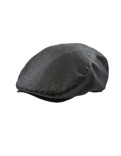 Black Brown 1826 Textured Ivy Cap-GREY-Medium/Large