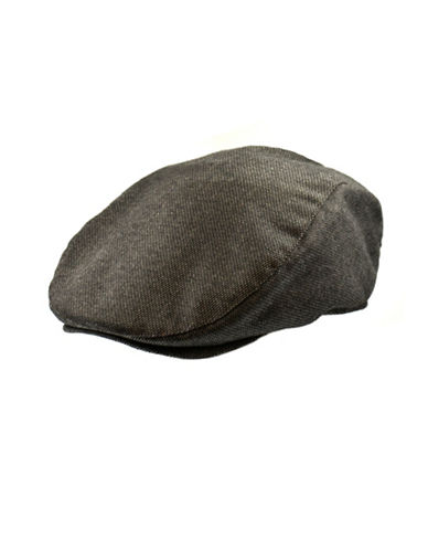 Black Brown 1826 Textured Ivy Cap-BROWN-Large/X-Large