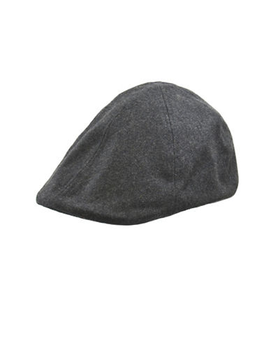 London Fog Wool Duckbill Ivy Cap-CHARCOAL-X-Large