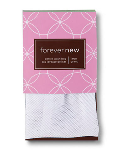 Forever New Gentle Wash Bag-WHITE-Large