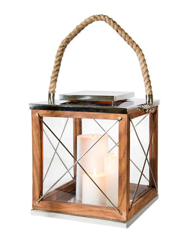Steven And Chris Wood Lantern-NATURAL-30