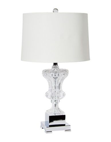 Home Details Crystal Table Lamp-CLEAR-One Size