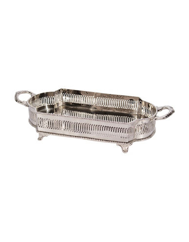 Home Details Tray with Handles and Feet-SILVER-27