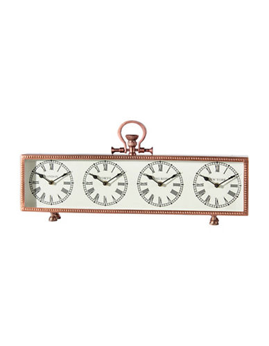 Home Details World Table Clock-COPPER-One Size