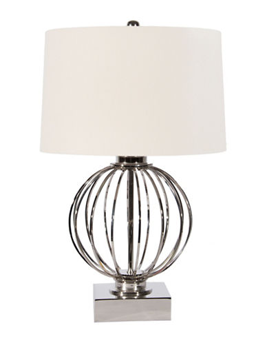 Steven And Chris Silver Ball Table Lamp-SILVER-One Size