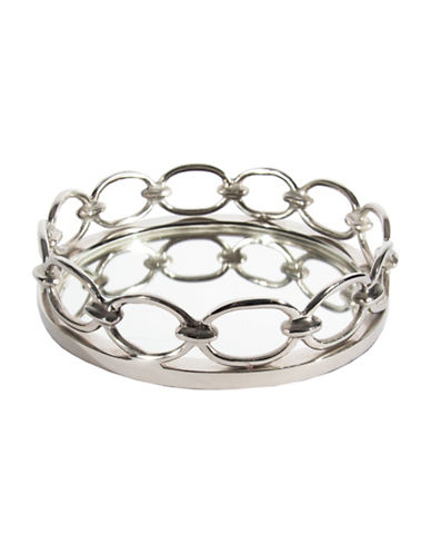 Home Details Chain Link Tray-SILVER-27 88570403_SILVER_27