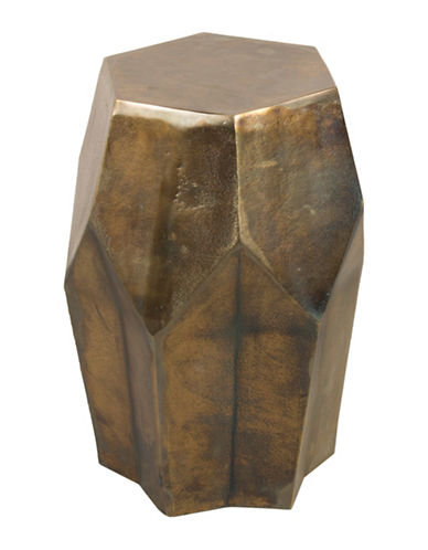 Steven And Chris Drum Style Side Table-BRASS-One Size