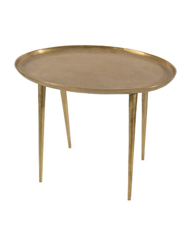 Steven And Chris Tapered Side Table-BRASS-One Size