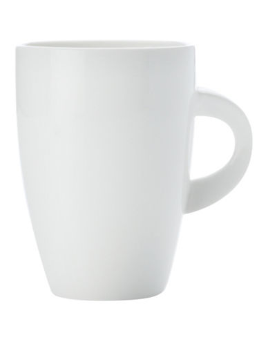 Maxwell & Williams East Meets West Four-Piece Coupe Mug Set-WHITE-One Size