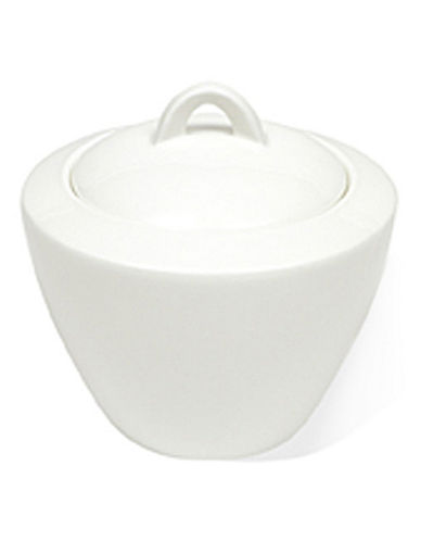 Maxwell & Williams West Meets East Covered Sugar Bowl-WHITE-One Size