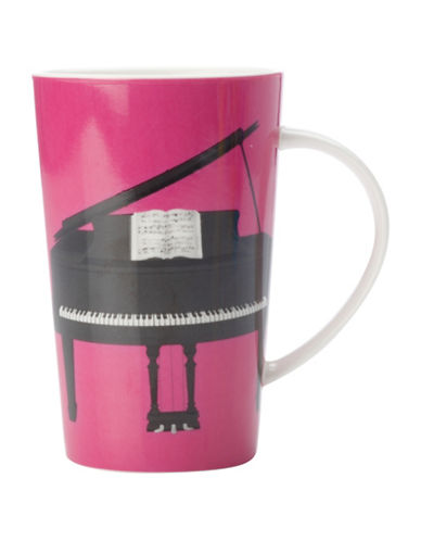 Maxwell & Williams Set of Three Recital Conical Mugs-PINK-One Size 88185648_PINK_One Size