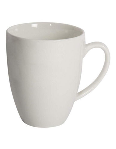 Maxwell & Williams Basic White Four-Piece Mug Set-WHITE-One Size