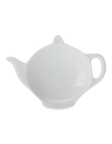 Maxwell & Williams Set of 24 Tea Bag Holders-WHITE-One Size