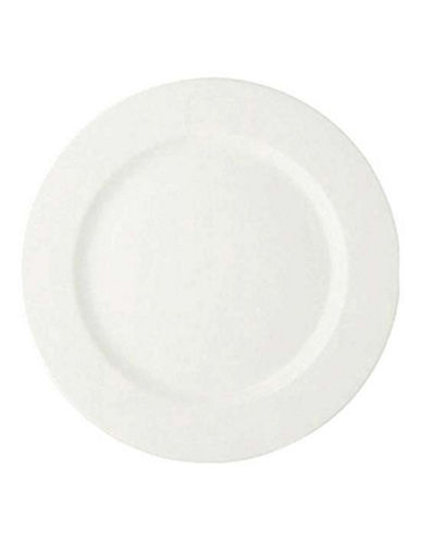 Maxwell & Williams Basic White Set of Six Entree Plates-WHITE-One Size