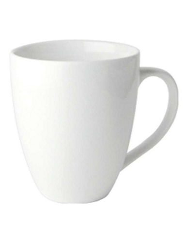 Maxwell & Williams Basic White Set of Four Coupe Mugs 88179637