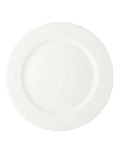 Maxwell & Williams Basic White Set of Two Basic Round Platters-WHITE-One Size