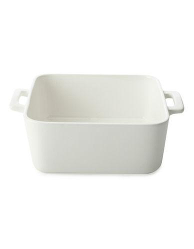Maxwell & Williams Basics Set of Four Square Baking Dishes-WHITE-One Size