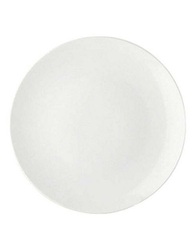 Maxwell & Williams Basic White Set of Six Coupe Plates-WHITE-One Size 88179662_WHITE_One Size