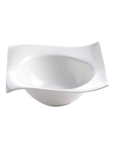 Maxwell & Williams Motion Six Pack 19cm Square Bowl Set-WHITE-One Size