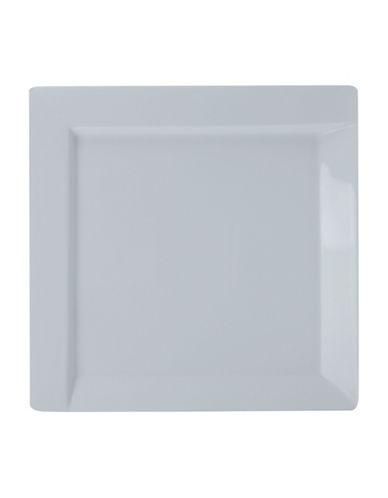 Maxwell & Williams Set of Four ZiiZ Entree Plates-WHITE-One Size