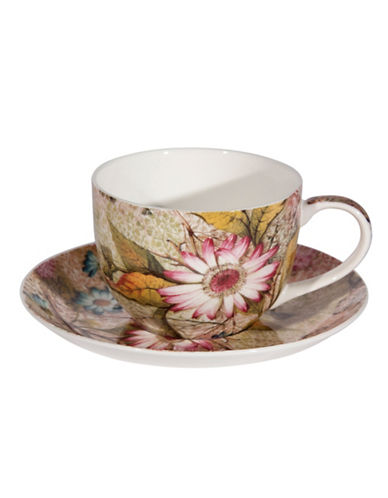 Maxwell & Williams Set of Two William Kilburn Daydreams Teacups and Saucers-MULTI-One Size