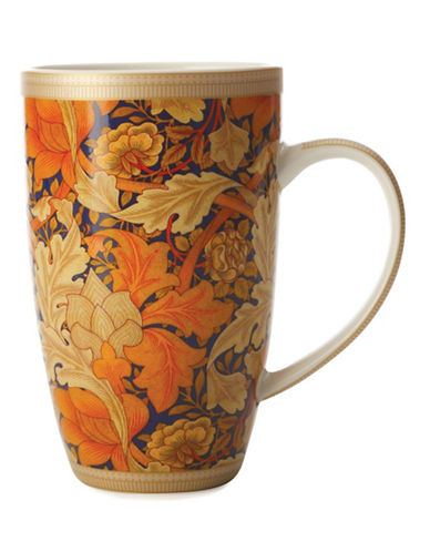 Maxwell & Williams Set of Four William Morris Acanthus Mugs-MULTI-One Size 88185689_MULTI_One Size