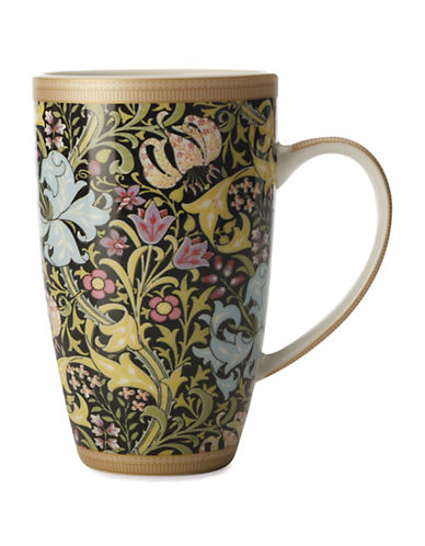 Maxwell & Williams Set of Four William Morris Coupe Mugs-BLACK-One Size 88185691_BLACK_One Size