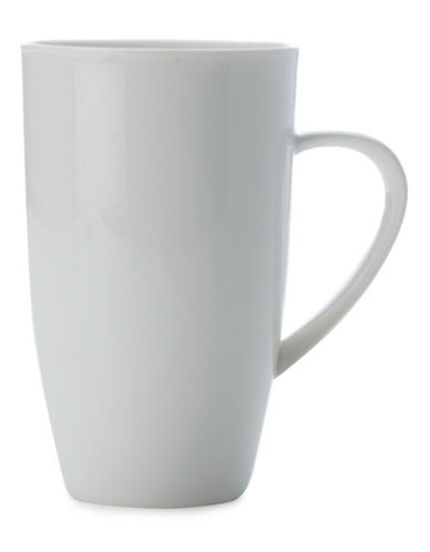 Maxwell & Williams Basics Set of Four High Coupe Mugs-WHITE-One Size