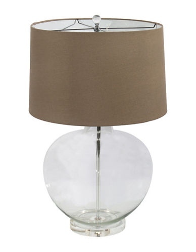 Steven And Chris Glass Ball Table Lamp-CLEAR-One Size