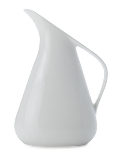 Maxwell & Williams Swan Medium Porcelain Jug-WHITE-Large