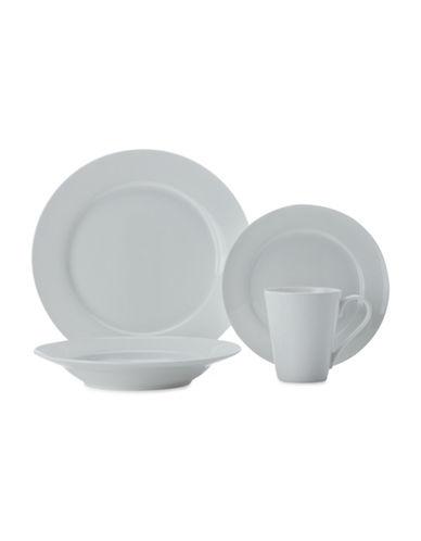 Maxwell & Williams Cashmere Rim 16-Piece Dinner Set-WHITE-One Size