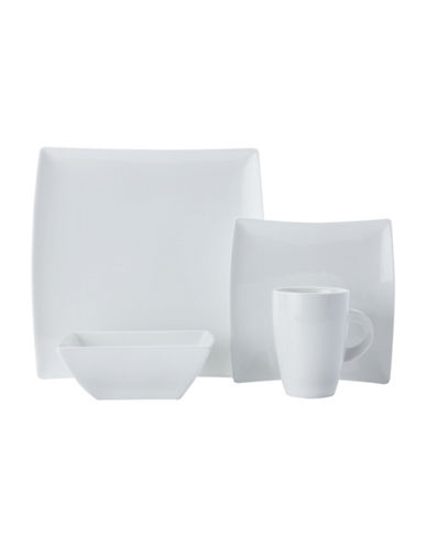 Maxwell & Williams West Meets East 16-Piece Porcelain Dinner Set-WHITE-One Size
