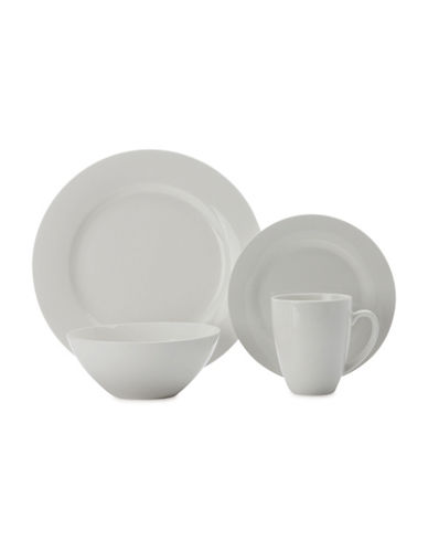 Maxwell & Williams Sixteen-Piece Condo Dinner Set-WHITE-One Size