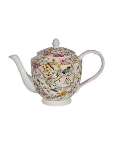 Maxwell & Williams Summer Blossom Large Teapot - 33.8 oz-MULTI-1L