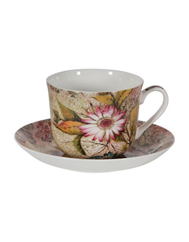 Maxwell & Williams William Kilburn Daydreams Cup and Saucer-MULTI-One Size
