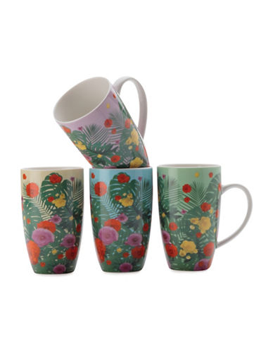Maxwell & Williams Jungle Juice Mug Set-ASSORTED-One Size